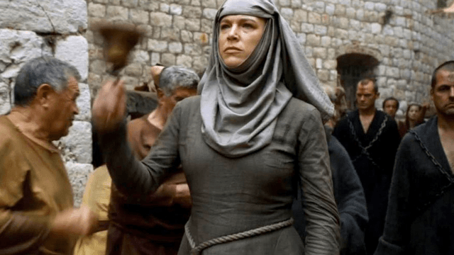 It turns out that the bell-ringing shame nun Septa Unella from 'Game of Thrones' is extremely hot in real life.