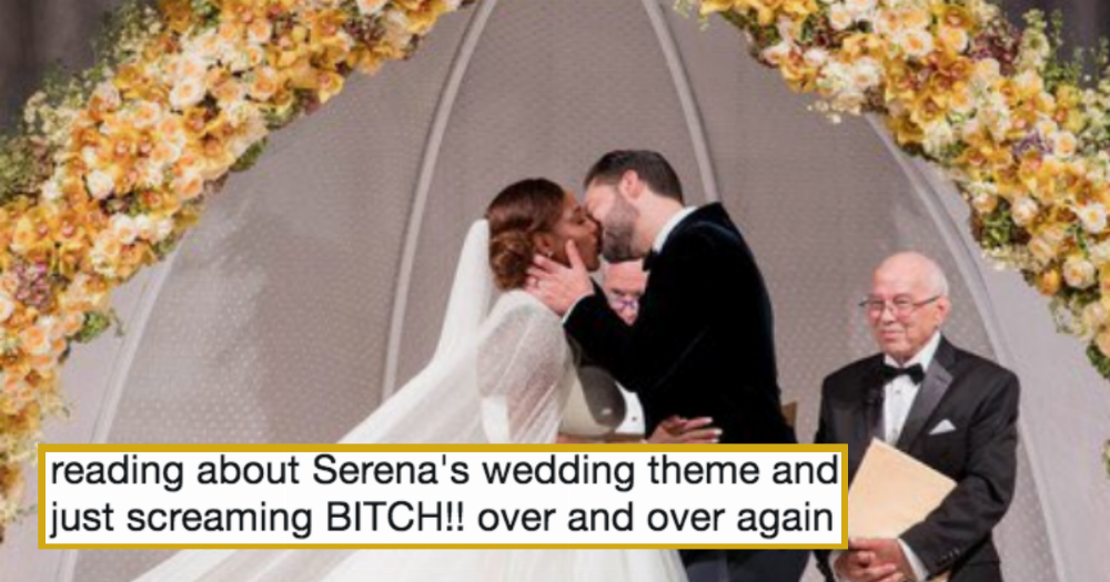 Serena Williams Wedding Looked Like A Disney Fairy Tale And The Internet Is Obsessed