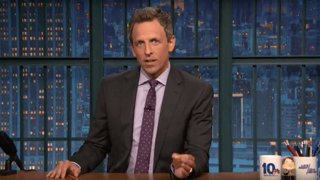 Seth Meyers rips into Trump for his response to Charlottesville.