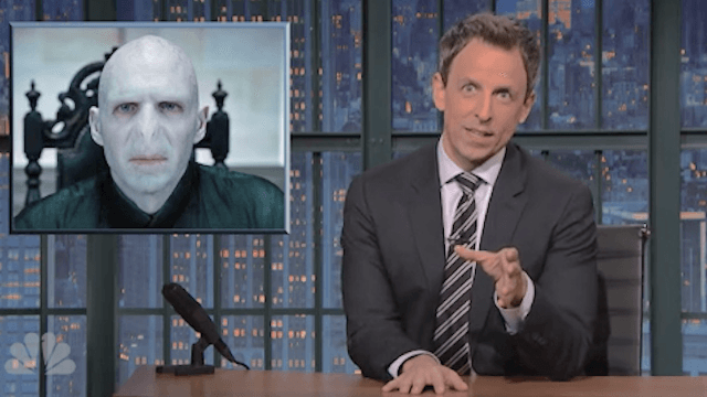 Seth Meyers makes a final, hilarious case against voting for Trump.