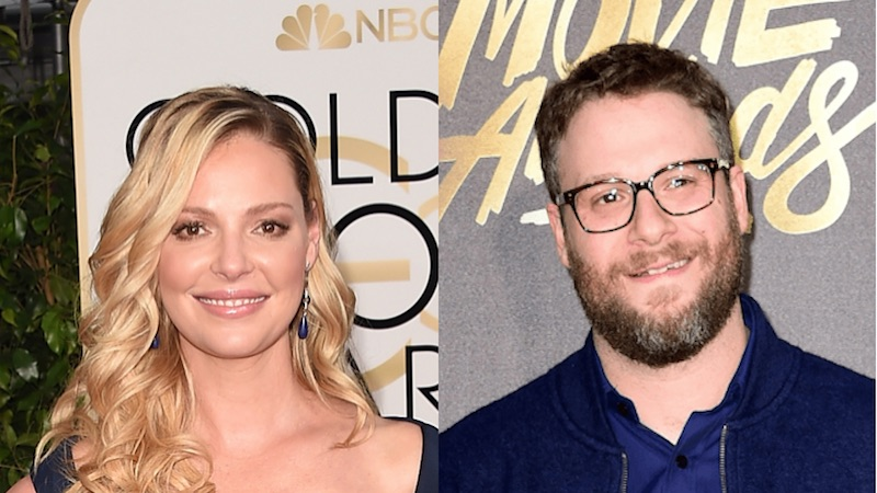 Seth Rogen finally reacts to Katherine Heigl saying 'Knocked Up' was sexist 8 years ago.