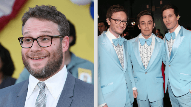 Seth Rogen and The Lonely Island announce new movie whose plot is freakishly similar to the Fyre Festival disaster.