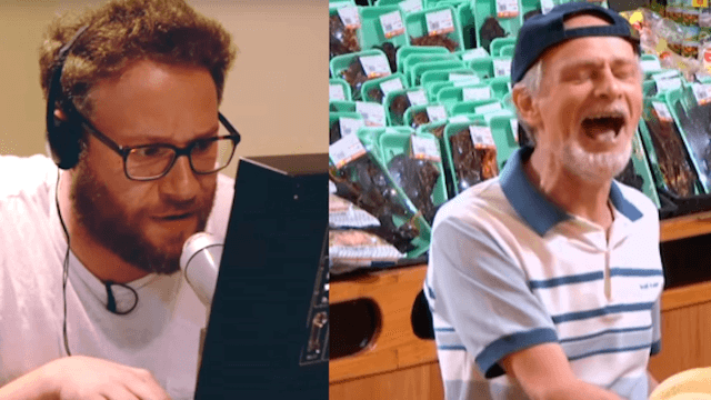 Seth Rogen pranked a grocery store to show that food has feelings.