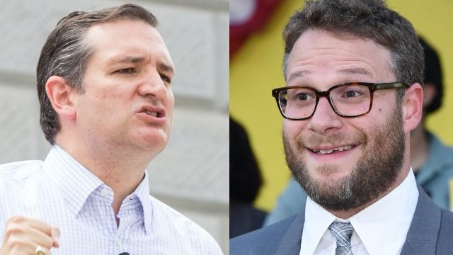 Ted Cruz and Seth Rogen fight on Twitter after Rogen called him a fascist.
