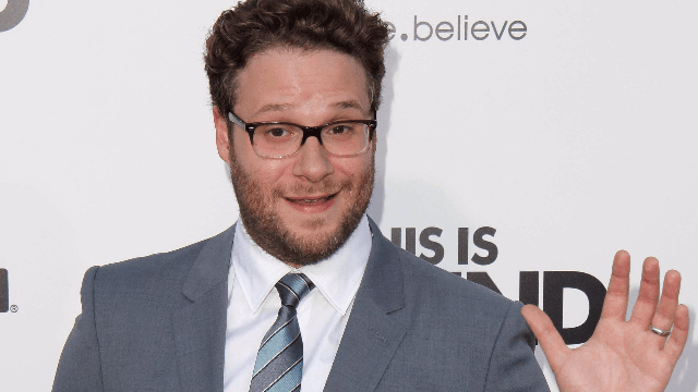 Seth Rogen goes after Twitter CEO for what he's doing with Russian propaganda money.