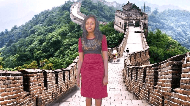 Woman's terribly-Photoshopped 'trip' to China earns her viral fame and an actual trip to China.