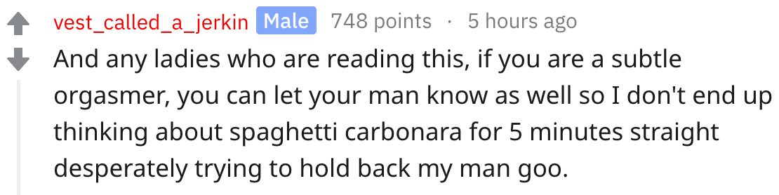 31 people share the best sex advice they've ever received. Eat lots of pineapples.