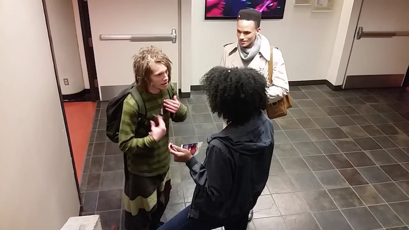 Angry SFSU student's tirade somehow makes the Internet feel bad for a white kid with dreadlocks.