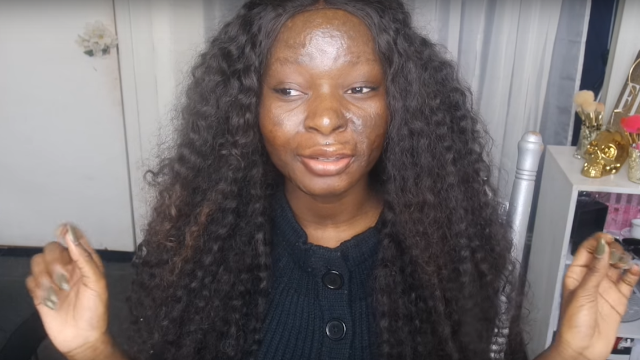 Burn victim with incredible makeup skills demonstrates how she covers up her scars.