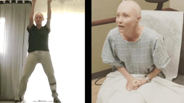 Shannen Doherty takes a quick dance break between cancer treatments.