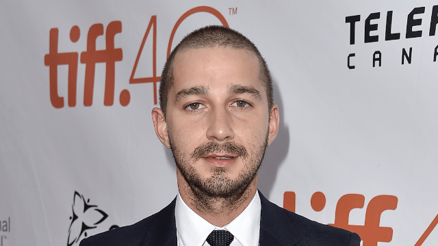 Shia LaBeouf doppelgänger punched in the face for looking like Shia LaBeouf.