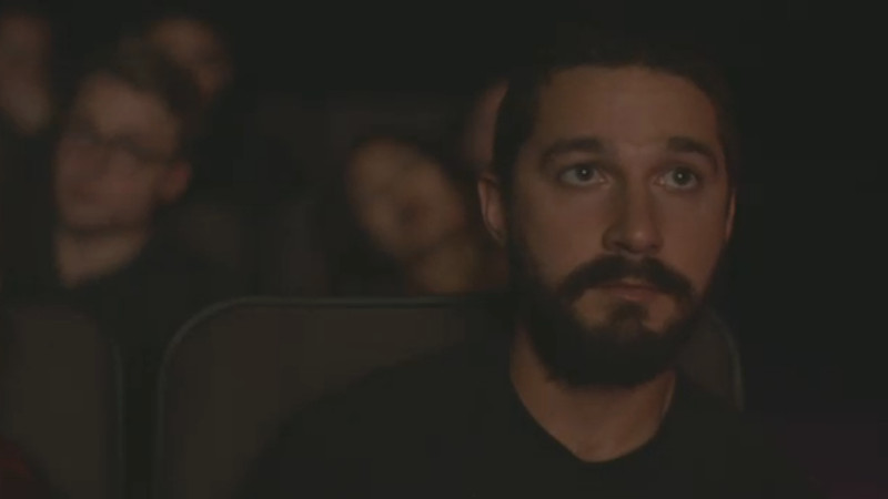 Shia LaBeouf is watching his own movies for three days straight and you can join him, because art.