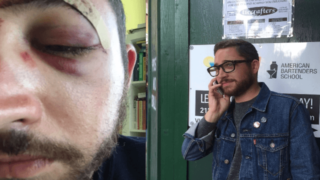 The guy who was punched for looking like Shia LaBeouf got a voicemail from the real Shia. It was actually pretty sweet.
