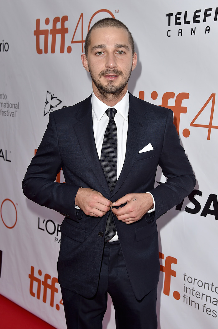 The real and presumably unharmed Shia LaBeouf.