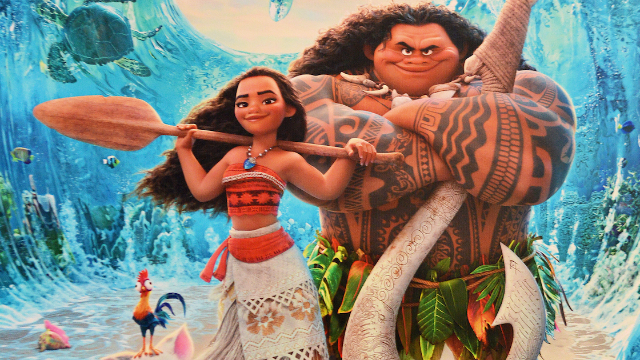Parents are debating whether it's okay for white kids to dress like Moana.