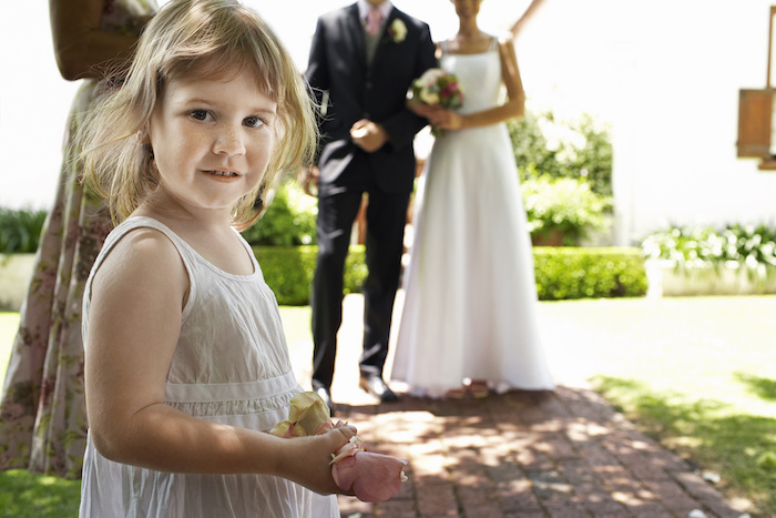 16 times kids were either evil or precious at weddings, depending on how much you like vomit.