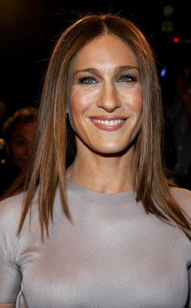 Sarah Jessica Parker teases her new haircut on Instagram. Spoiler: it's bangs!