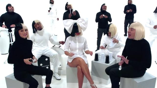 Sia, Natalie Portman, Jimmy Fallon, and The Roots sang 'Iko Iko' in wonderfully random music video.