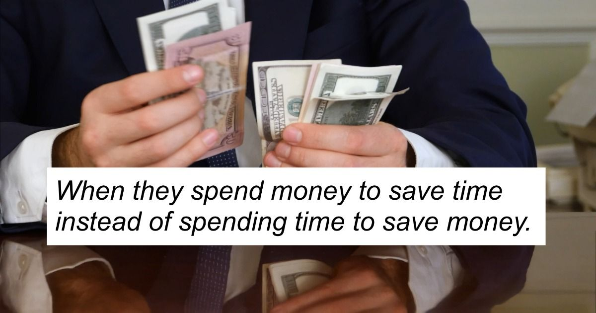 14 people share telltale signs that someone is richer than they look.