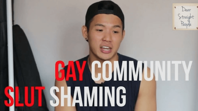 Guy makes anti-slut-shaming video to counter-shame whoever shared his nude pictures.