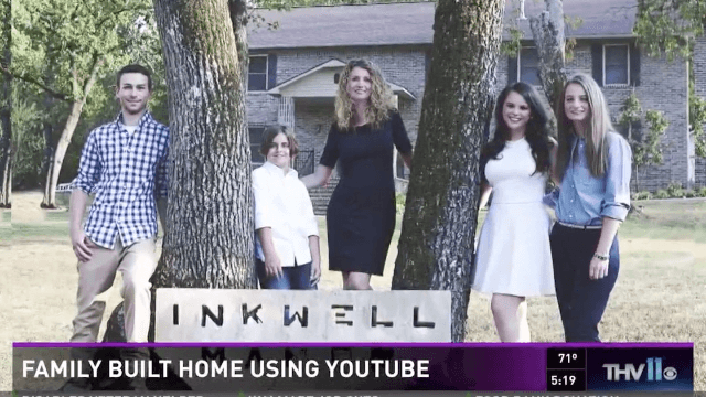 Badass single mom builds house from the ground up using YouTube tutorials.