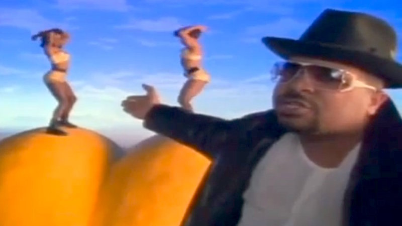 Some poor guy got Sir Mix-a-Lot's old phone number. Now everyone thinks he likes big butts.