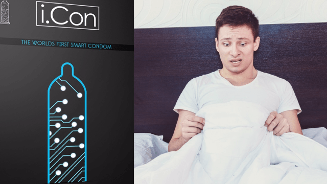 This 'smart condom' measures your 'performance' and is your worst nightmare.