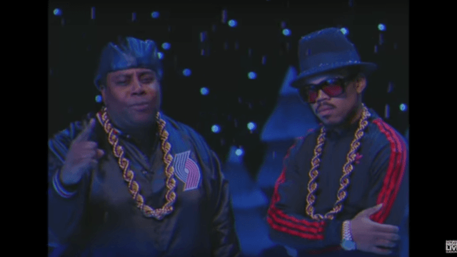 In Run-DMC parody, 'SNL' predicts this could be the last Christmas ever, now that Trump is taking over.