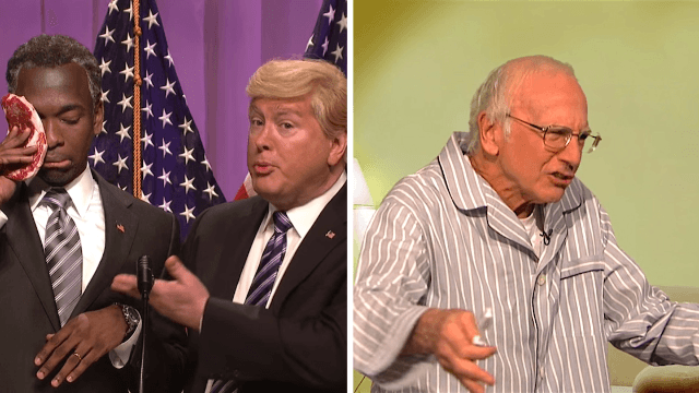 Bernie apologizes for supporters ruining everyone's Facebook feeds, and Carson endorses Trump on 'SNL.'
