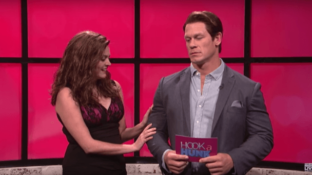 Watch what happens when a dating show host is way hotter than the contestants on 'SNL.'