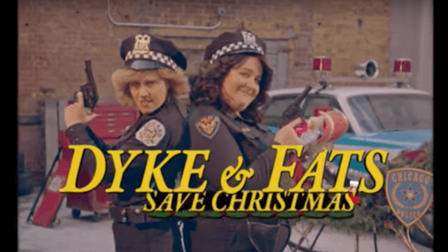 Watch 'Dyke & Fats' make a glorious return to 'SNL' to save Christmas and yell at the patriarchy.