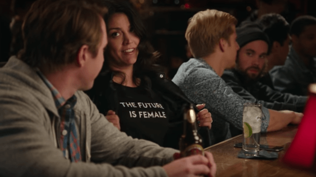 'SNL' perfectly trolls men who use feminism as a pick up line in this sketch.