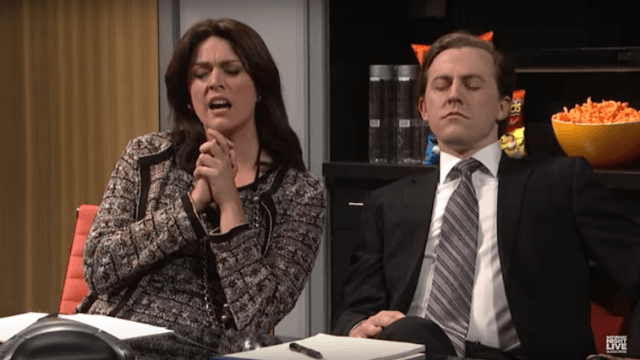'SNL' mocks the political Super Bowl commercials in this genius ad agency pitch sketch.