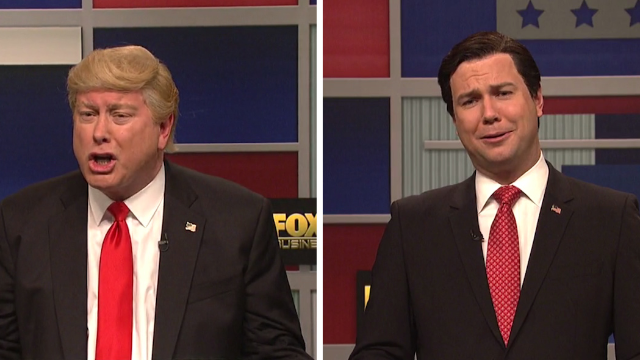 SNL's Republican debate cold open was even more brutal than the GOP show itself.
