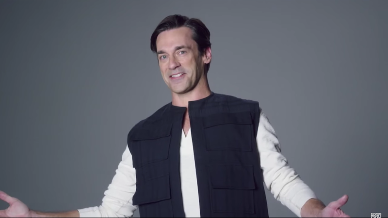 Real celebrities (and celebrity impressions) try out for the new 'Star Wars' on 'SNL.'