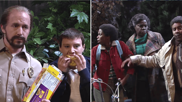 'SNL' turns 'Stranger Things' upside down by pointing out everything (else) that's weird about it.