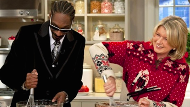 Snoop Dogg and Martha Stewart smoked weed together because the universe is just and good.