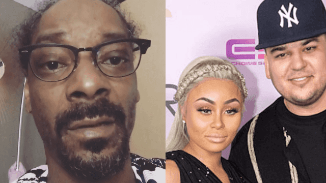 Snoop Dogg weighs in on Rob Kardashian/Blac Chyna drama and just makes it worse.