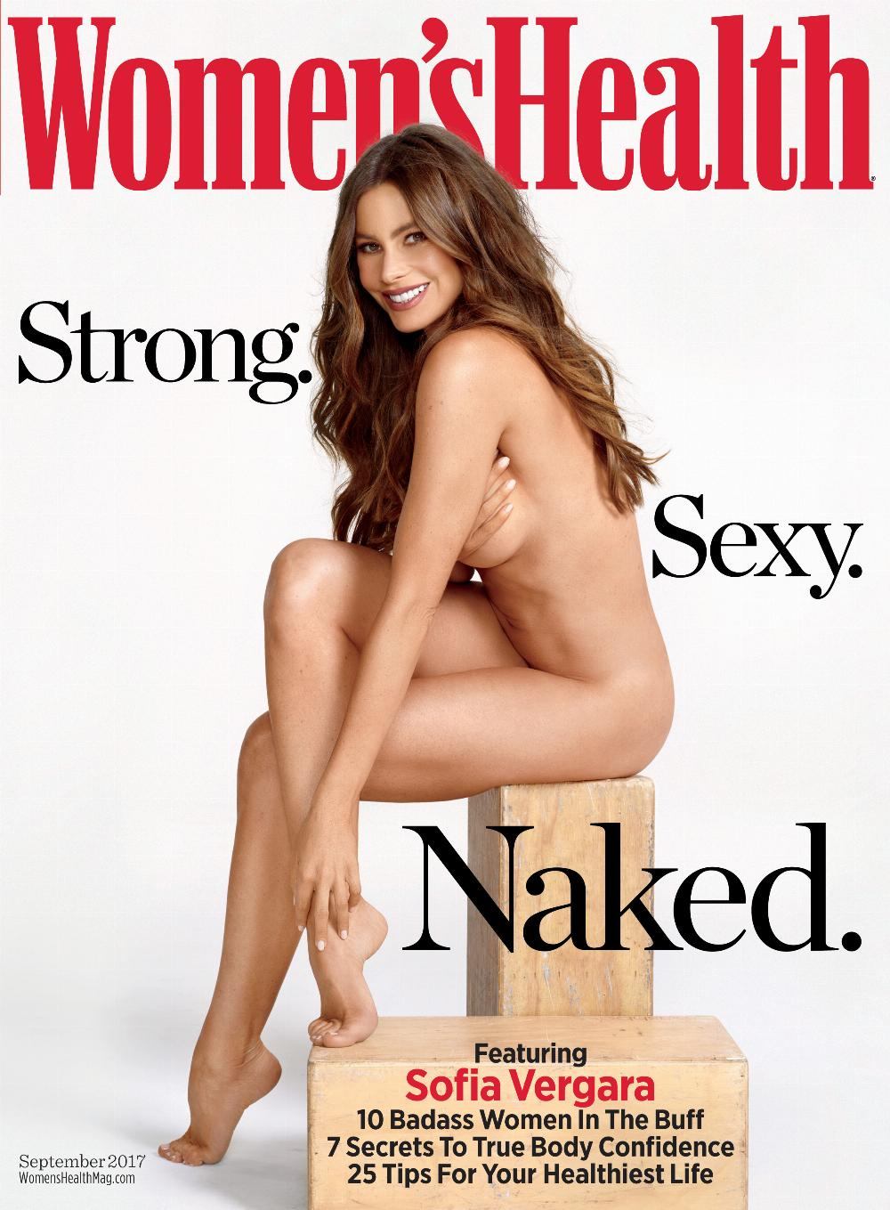 Sofia Vergara explains why she decided to pose nude on a magazine cover at 45.
