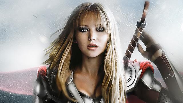 Somebody gender-swapped the Avengers, making room for Jennifer Lawrence and Mila Kunis.