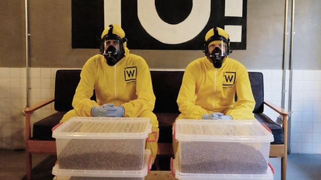 Someone opened a 'Breaking Bad'-themed coffee shop, because that's an idea that won't get old.
