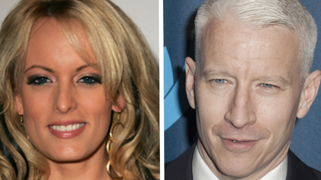 Someone shared the real questions Anderson Cooper 'wanted to ask' Stormy Daniels. Nailed it.
