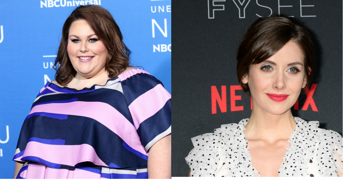 Someone tried to start a feud between Chrissy Metz and Alison Brie. It backfired.