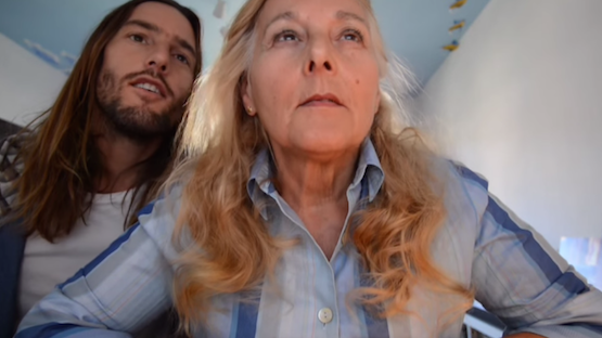A son surprised his mom with a video to help find her a boyfriend.