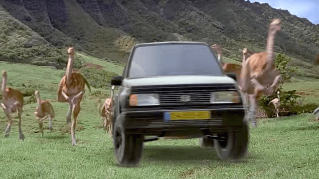 Special effects wizard creates the ultimate ad for his 'legend' of a '96 Suzuki Vitara.