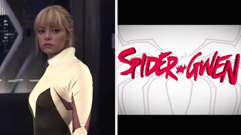 "What if Peter Parker's girlfriend had gotten spider powers instead? ""Spider-Gwen,"" that's what."