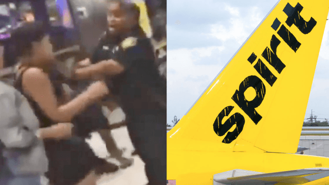 Spirit Airlines canceled so many flights that a straight-up brawl broke out in a Florida airport.