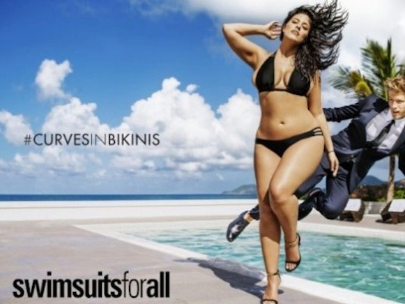 Sports Illustrated is featuring a plus-sized model in their swimsuit issue for the first time ever.
