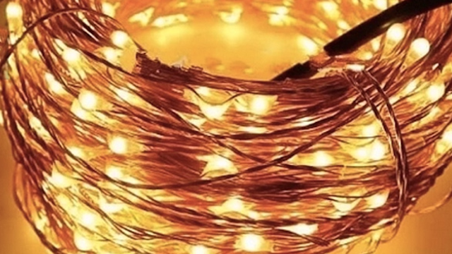 Spruce up your home with these exotic string lights.