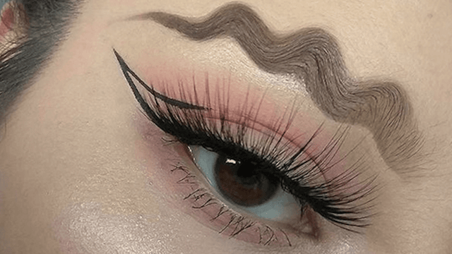 'Squiggle brows' is the latest Instagram that'll have you looking confused.